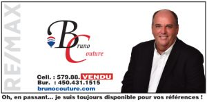Signature courriel Bruno Couture RE-MAX